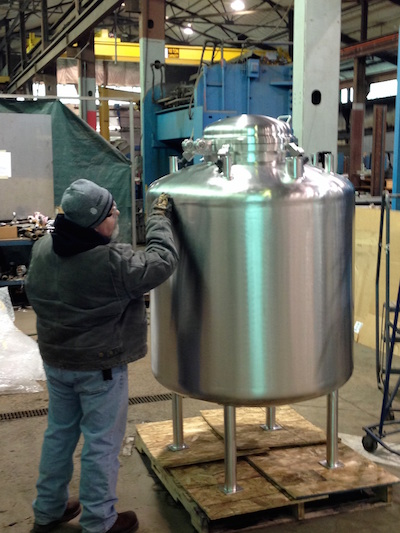 Custom Pharmaceutical Mixing Tanks Sharpsville Container
