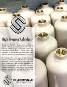 High Pressure Cylinders and More Brochure