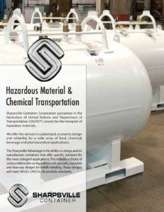 HazMat Chemical Transport