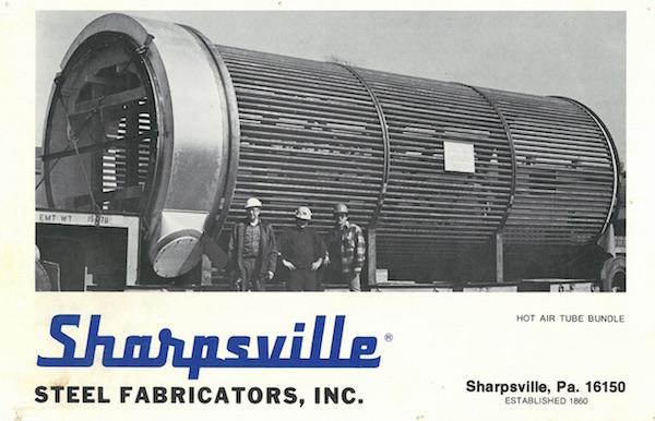 sharpsville-container-hot-air-tube-bundle-circa-1950