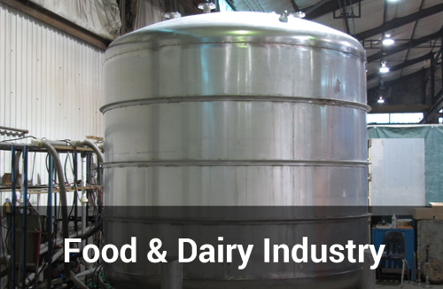 Food and Dairy Industry Tanks and Vessels by Sharpsville Container