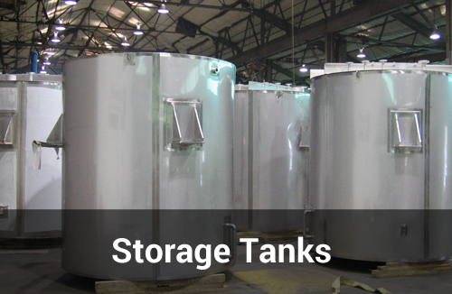 Large Storage Tanks by Sharpsville Container