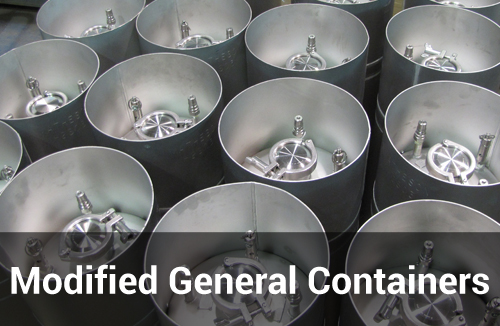 modified general purpose containers