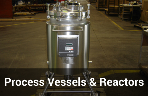 Process Vessels and Reactor from Sharpsville Container