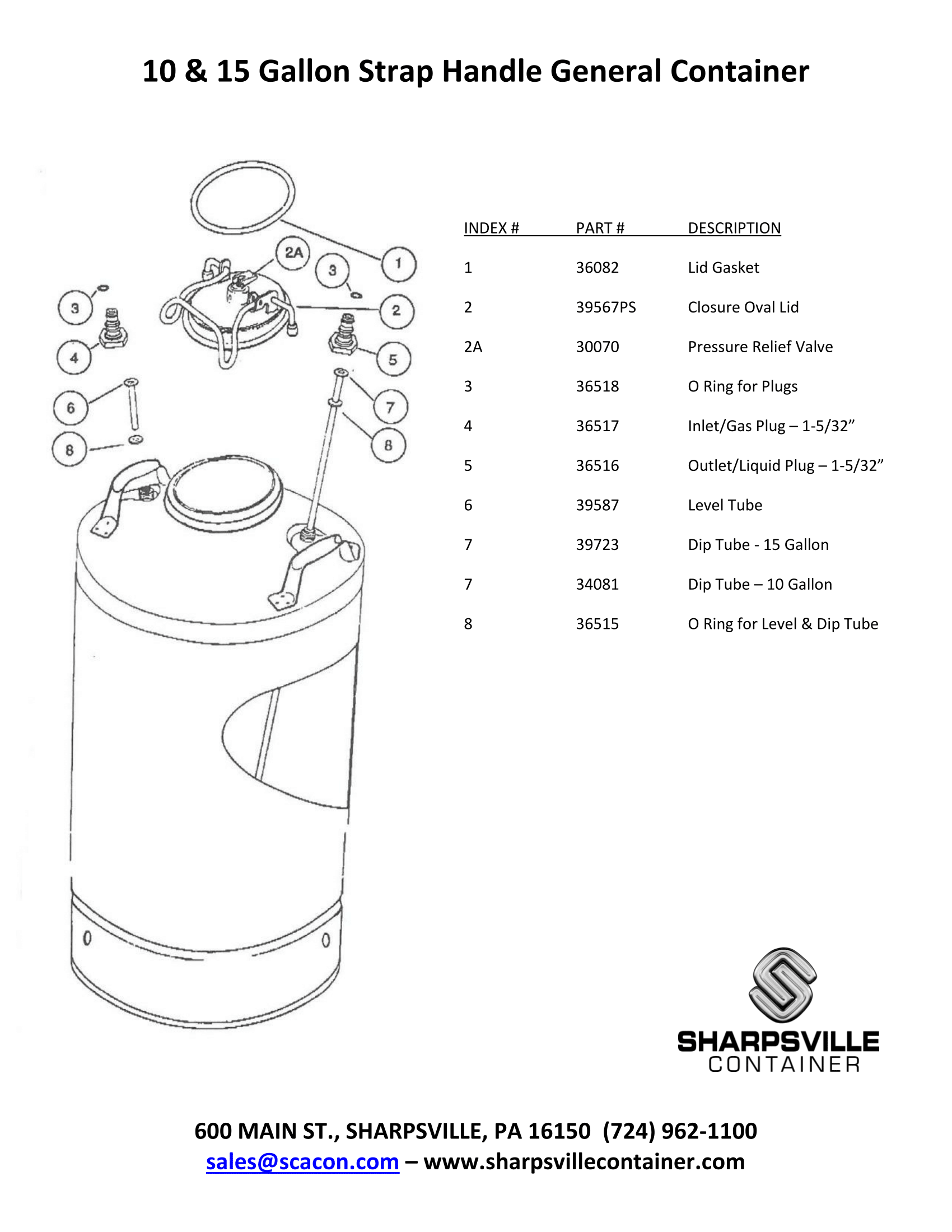 General Container Diagram