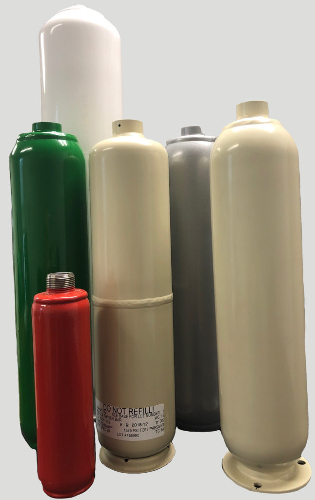 Types of Gas Cylinders by Sharpsville