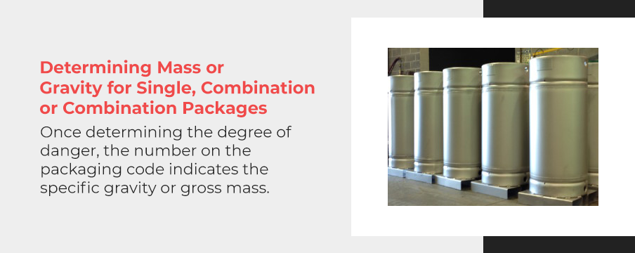determining mass of containers