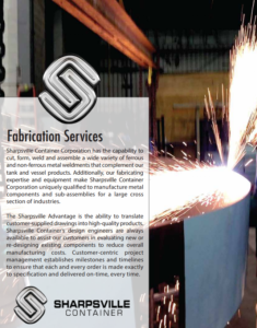 Sharpsville Container Fabrication Services PDF