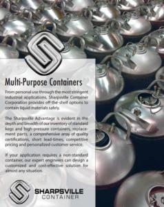 Sharpsville Container Multi-Purpose Containers PDF